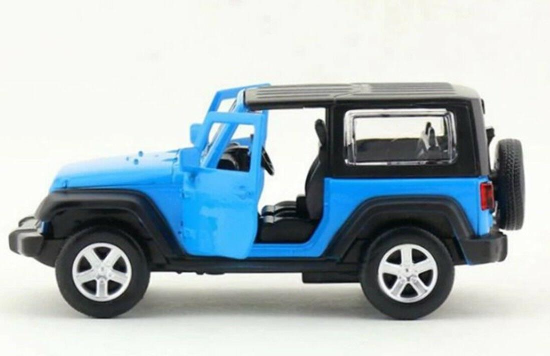 CAIPO Wrangler Diecast Model Car Blue Collection