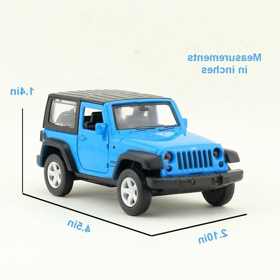 CAIPO 2014 Diecast Model Car Blue Collection