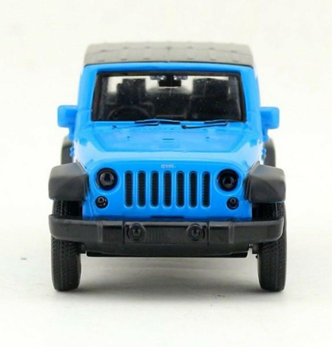 CAIPO Jeep Diecast Model Car Blue Collection
