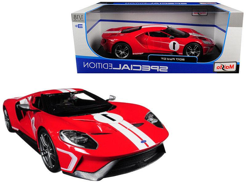 2017 ford gt 1 red heritage special