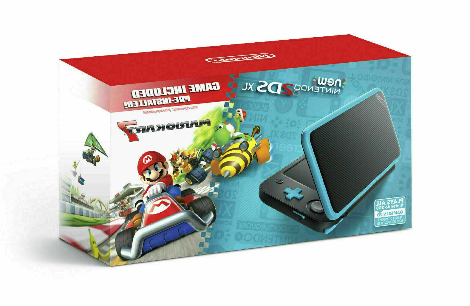 Nintendo 2DS XL + with Kart 7 Pre-installed - New in Box