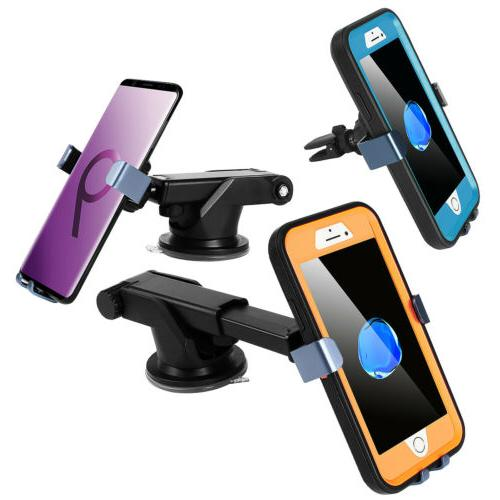 Phone Mount Holder Windshield Air Vent Stand For