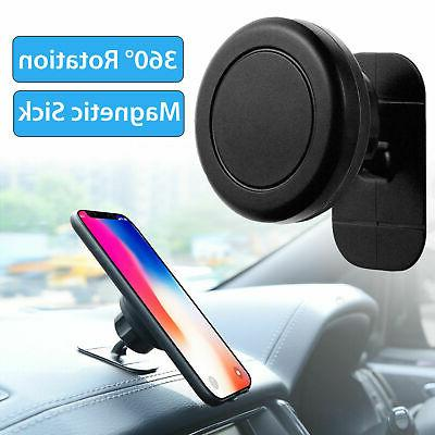 360° Magnetic Car Mount Holder Stand Stick On Dashboard For