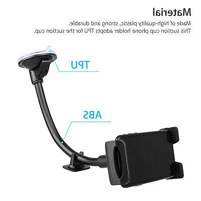 360° Windshield Dashboard suction Mount For Tablet PC GPS