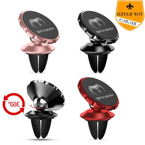 360 Degree Magnetic Car Mount Holder Air Vent For Cell Phone