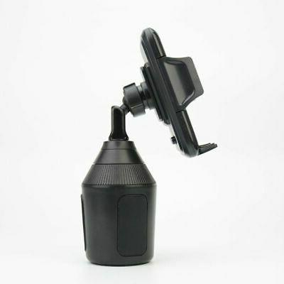 360 Car Cup Holder GPS Mount Cell Phone