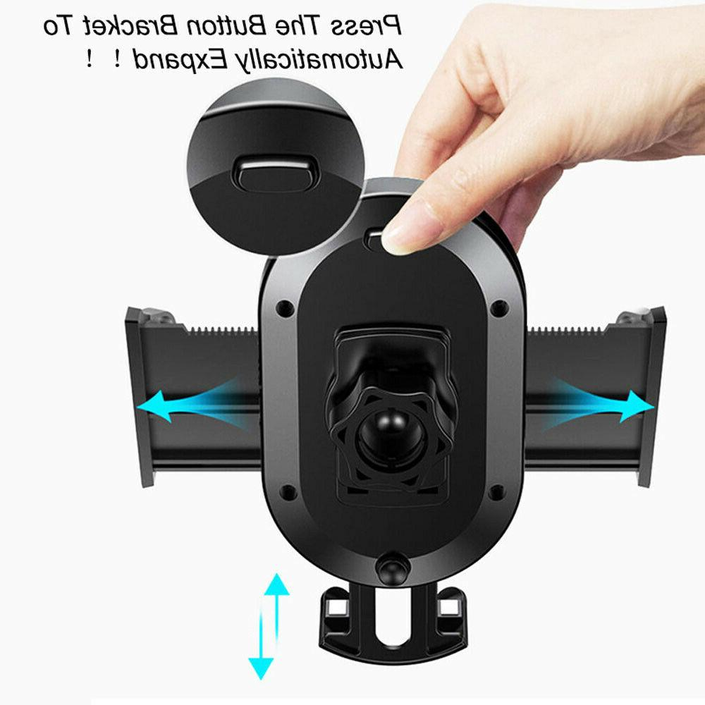 360° Mount Windshield Stand Cell Phone GPS iPhone Samsung