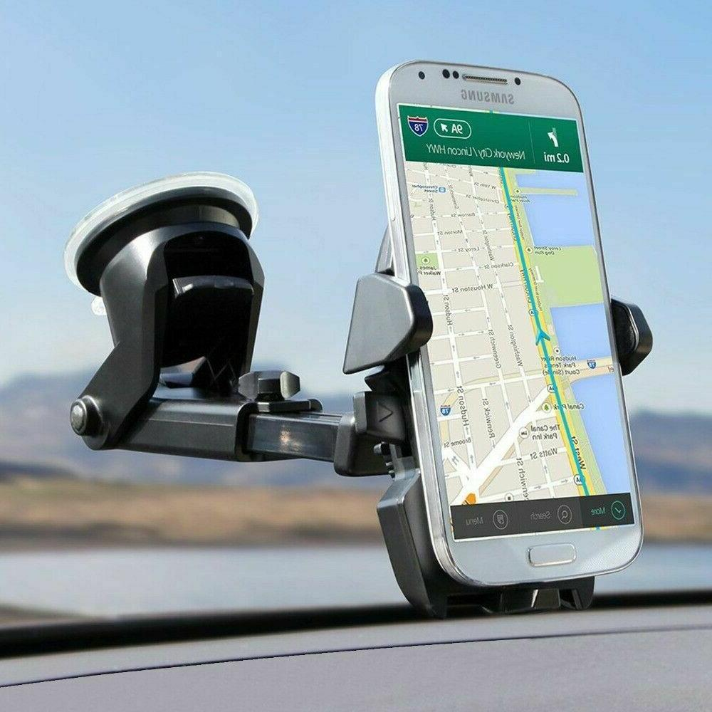 360° Windshield Stand For Cell iPhone Samsung