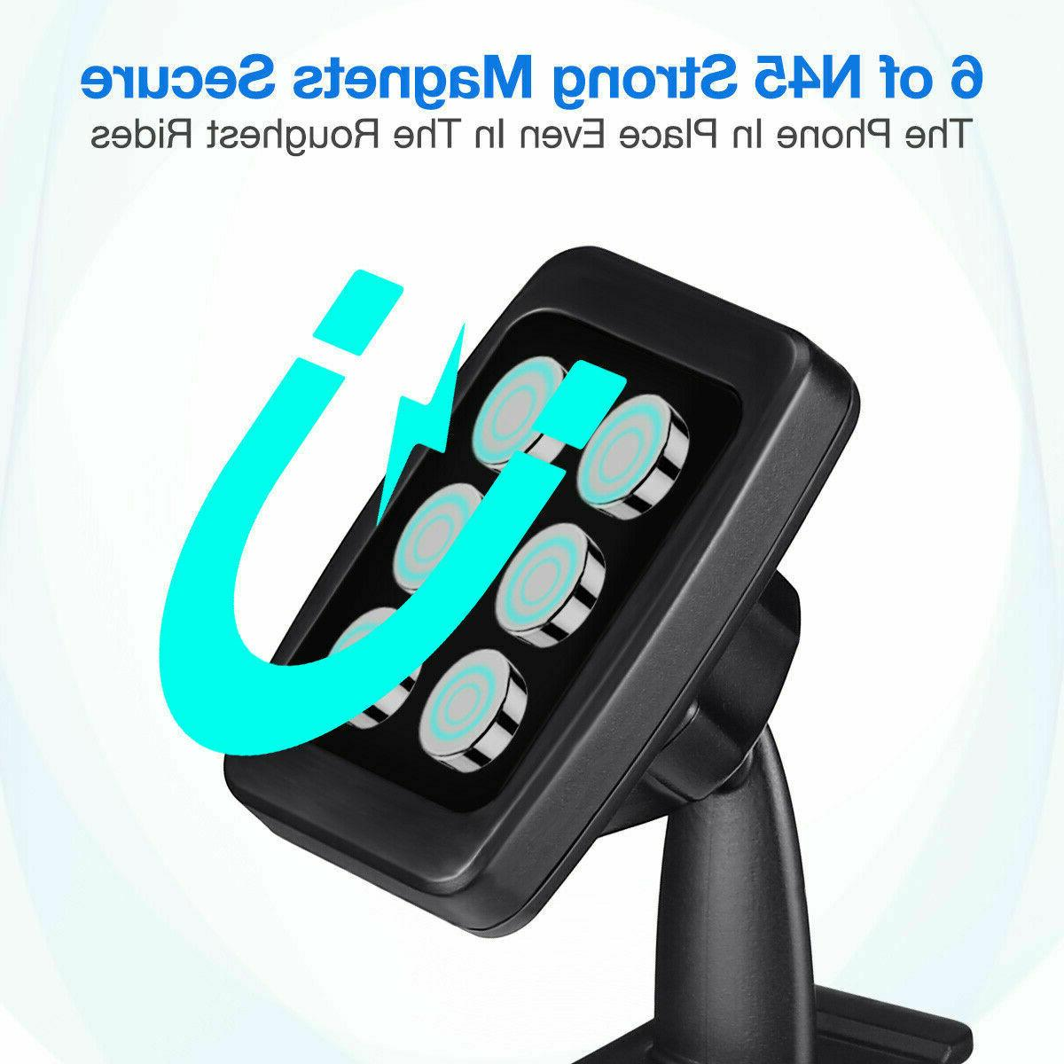 360° Strong Car Cell Phone Mount Holder GPS
