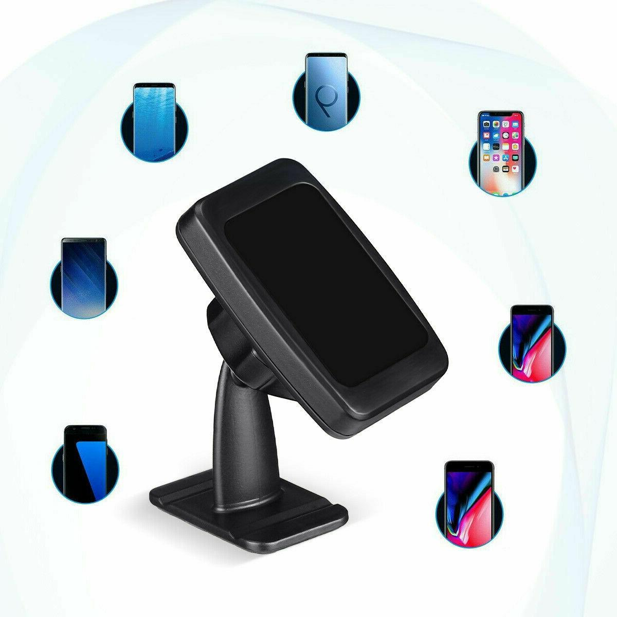 360° Magnetic Car Cell Phone Holder Stand For GPS