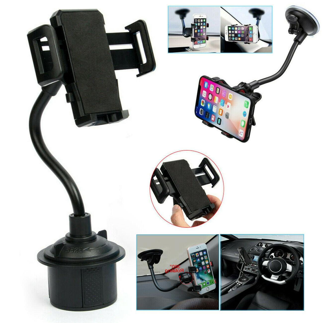 360 universal car mount windshield cup mobile