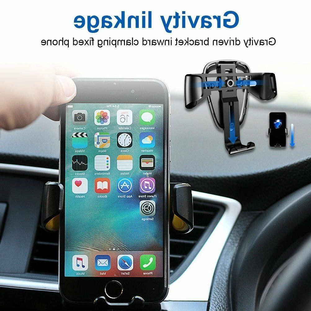 360° Gravity Car Mount Holder Air Stand For Universal Phone