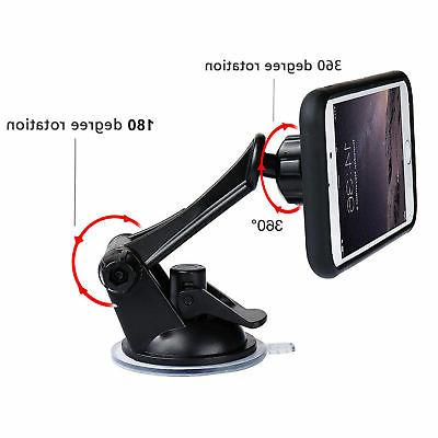 360º Suction Cup Magnetic Mount Holder Cell