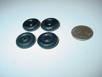 4 nos replacement rubber wheels for hubley