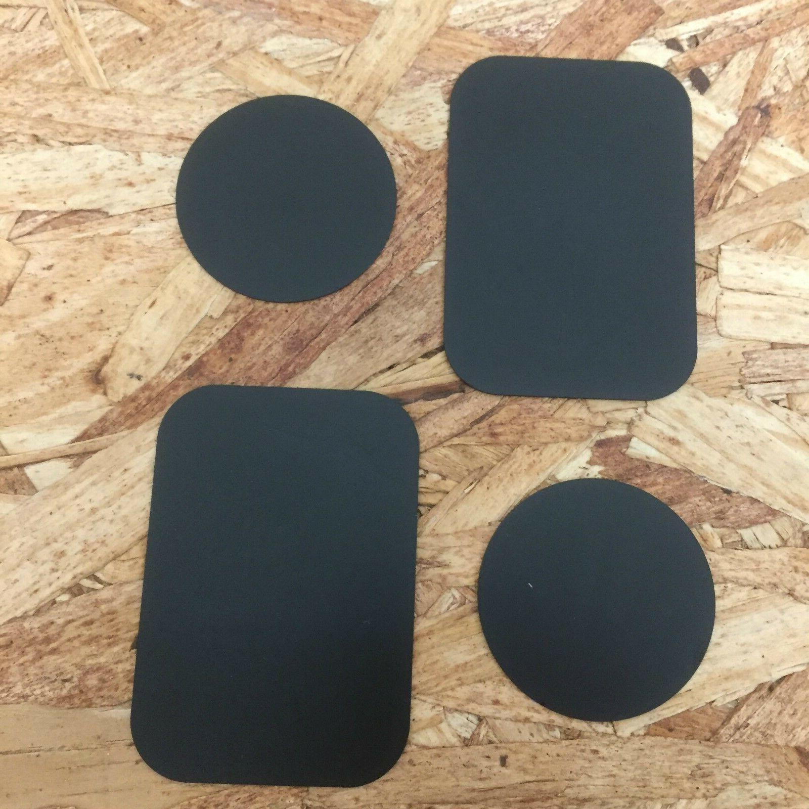 4 Pieces Metal Plate Replacement For Magnetic Car Mount Magn