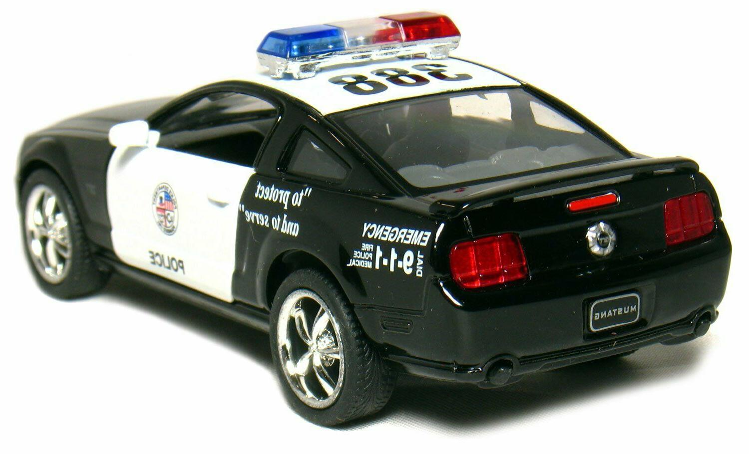 Big Sale Official Licensed Ford Mustang GT Police Car 2006 G