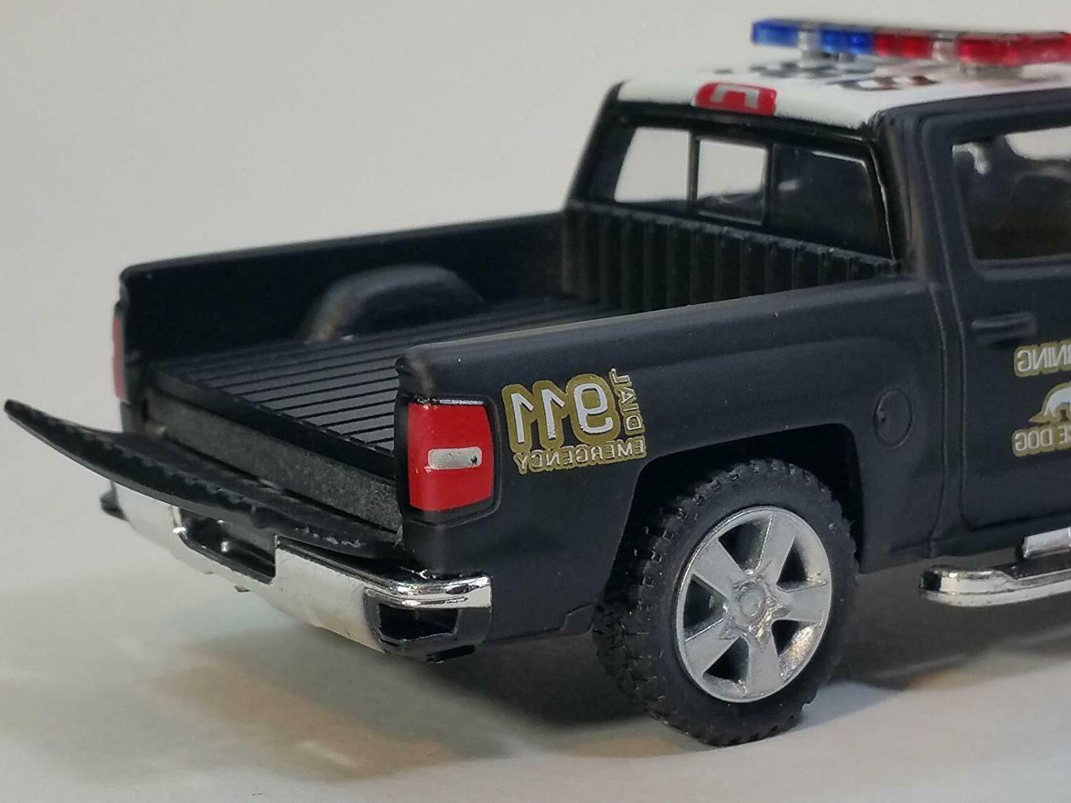 Big Police Unit Car SUV Diecast Truck Super Gift for kid