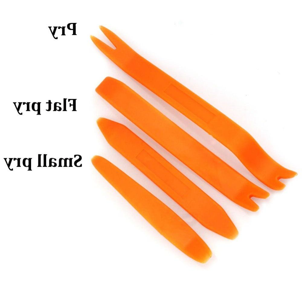 4Pcs Panel Removal Video Dashboard Dismantle Installer Pry Trim Repair Tools