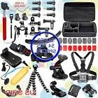 54in1 Head Chest Mount Floating Monopod Car 360 Clip Kit For