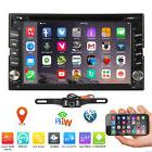 """6.2"""" Smart Android7.1 4G WiFi Double 2DIN Car Radio Stereo D"""