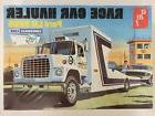 AMT758 - Race Car Hauler Ford LN 8000 1/25 Scale Model Semi
