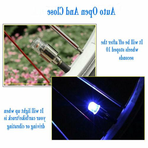 8/16X Tyre Valve Blue Neon for Motorcycle