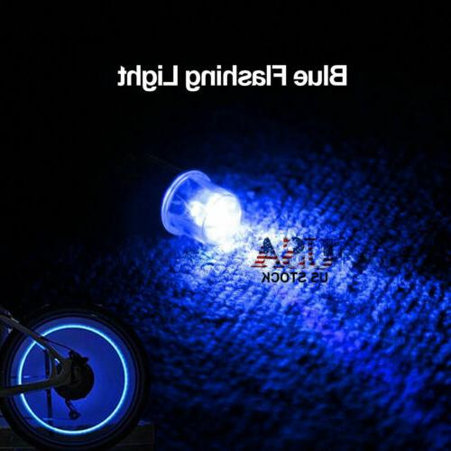 8/16X Tyre Valve Neon Light for Motorcycle