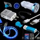 Bundles Car Wall Charger Cord for Samsung Galaxy Note 8 9 S8