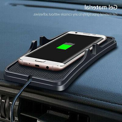 Qi Wireless Car Charger Charging For X/8 S8 S9