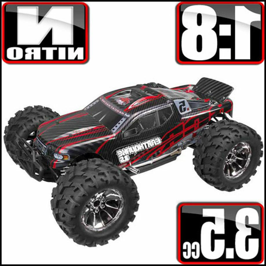 Redcat Racing Earthquake 3.5 Monster Truck Nitro 2-Speed wit