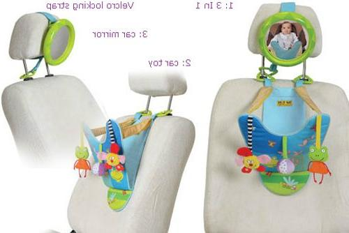 Taf Play Center | Parent And Baby's Mirror To Watch From Seat, Easier Parenting.