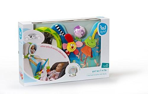 Taf Toys In-Car Center | Parent Baby's Mirror Watch From Enables Easier Parenting.
