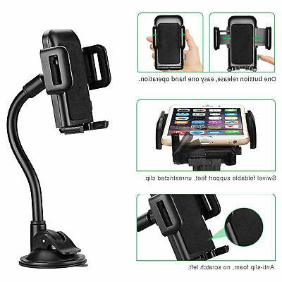 Universal Car Dashboard Suction Cup Stand for
