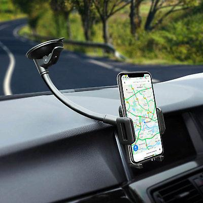 Universal Windshield Dashboard Suction Cup Holder Stand