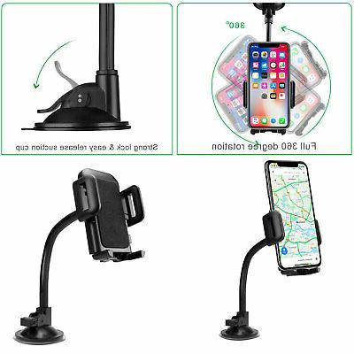 Universal Windshield Suction Cup Mount Stand Phone