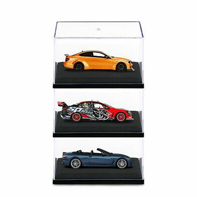 Acrylic Case 1:64 Scale Base for Diecast Toy Car