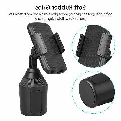 Adjustable Cup Mount Phone Cup Holder