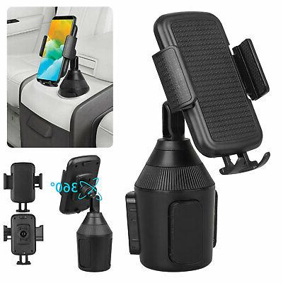 adjustable cup holder car mount for iphone