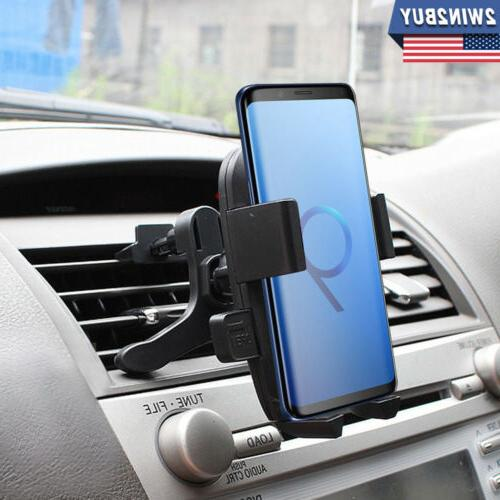 air vent car phone holder cradle mount