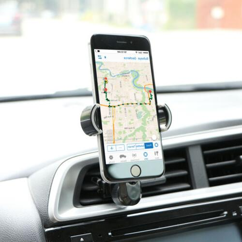 Air Vent Cell Phone Holder Stand Mobile GPS iPhone Samsung