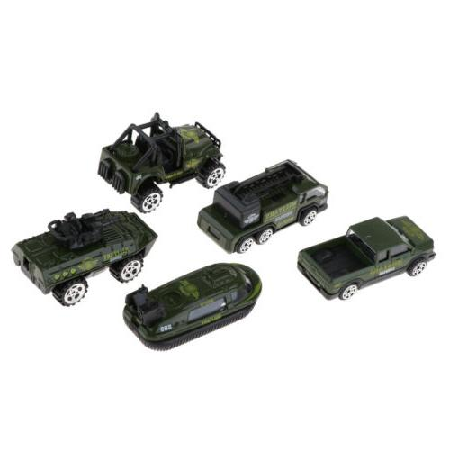 Alloy Model Car Diecast Vehicle Toy Playsets for Baby Kids B