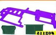 Redcat Racing Aluminum Upper Plate, Purple