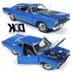 amm1125 1968 plymouth roadrunner post coupe blue