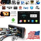 """Android 7.1 Bluetooth Car Stereo Radio 2 DIN 7"""" MP5 Player G"""