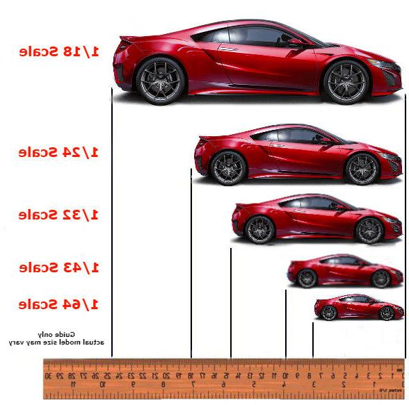 Auto Pack Display Scale Model Cars CLEAR AWDC008