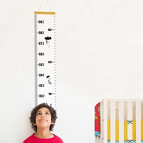 baby growth chart hanging rulers