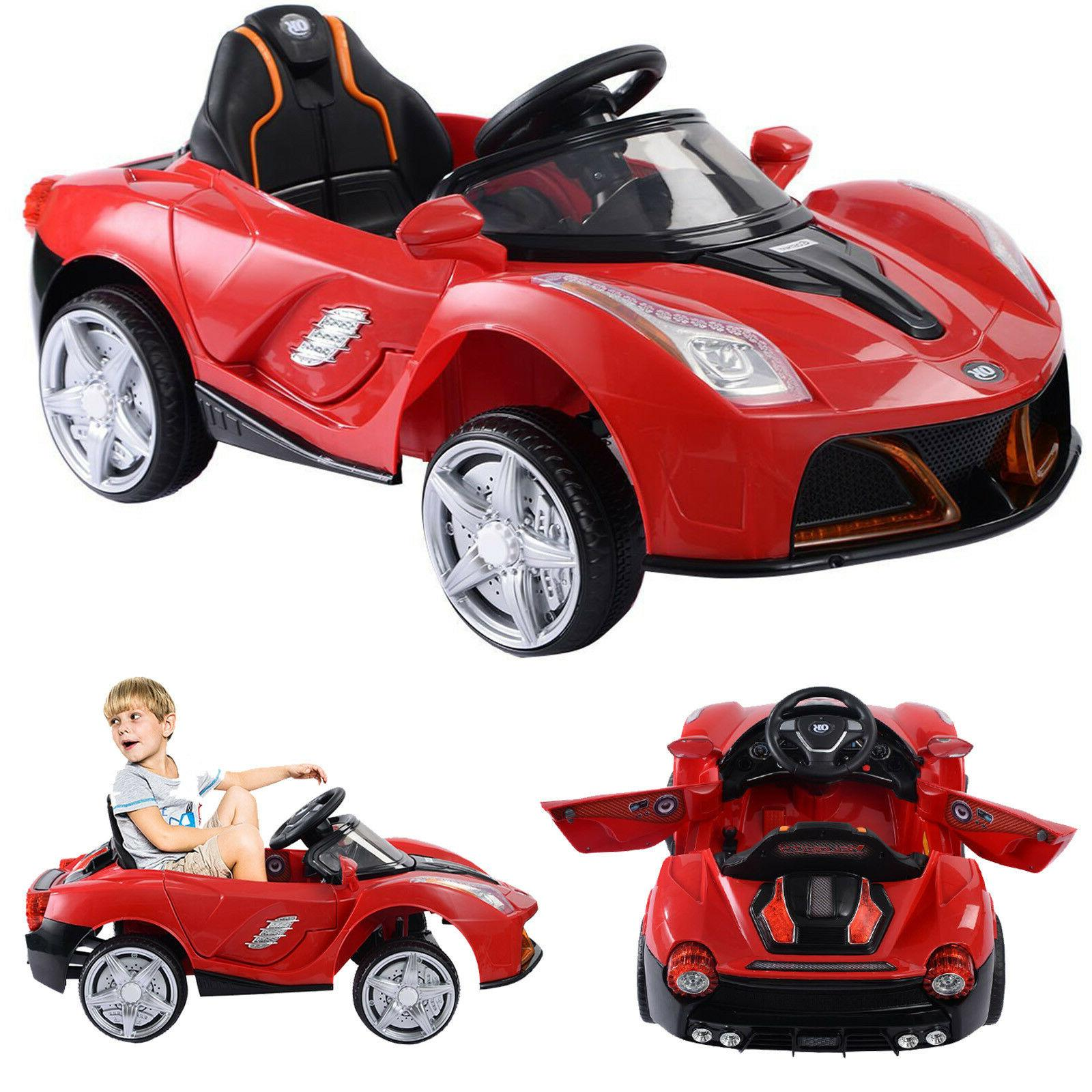 Battery Powered Car For Kids Ride On Toy Remote Control 6V T