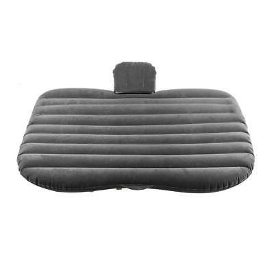 Black Car Inflatable Bed Back Seat Airbed for Rest Travel Camping