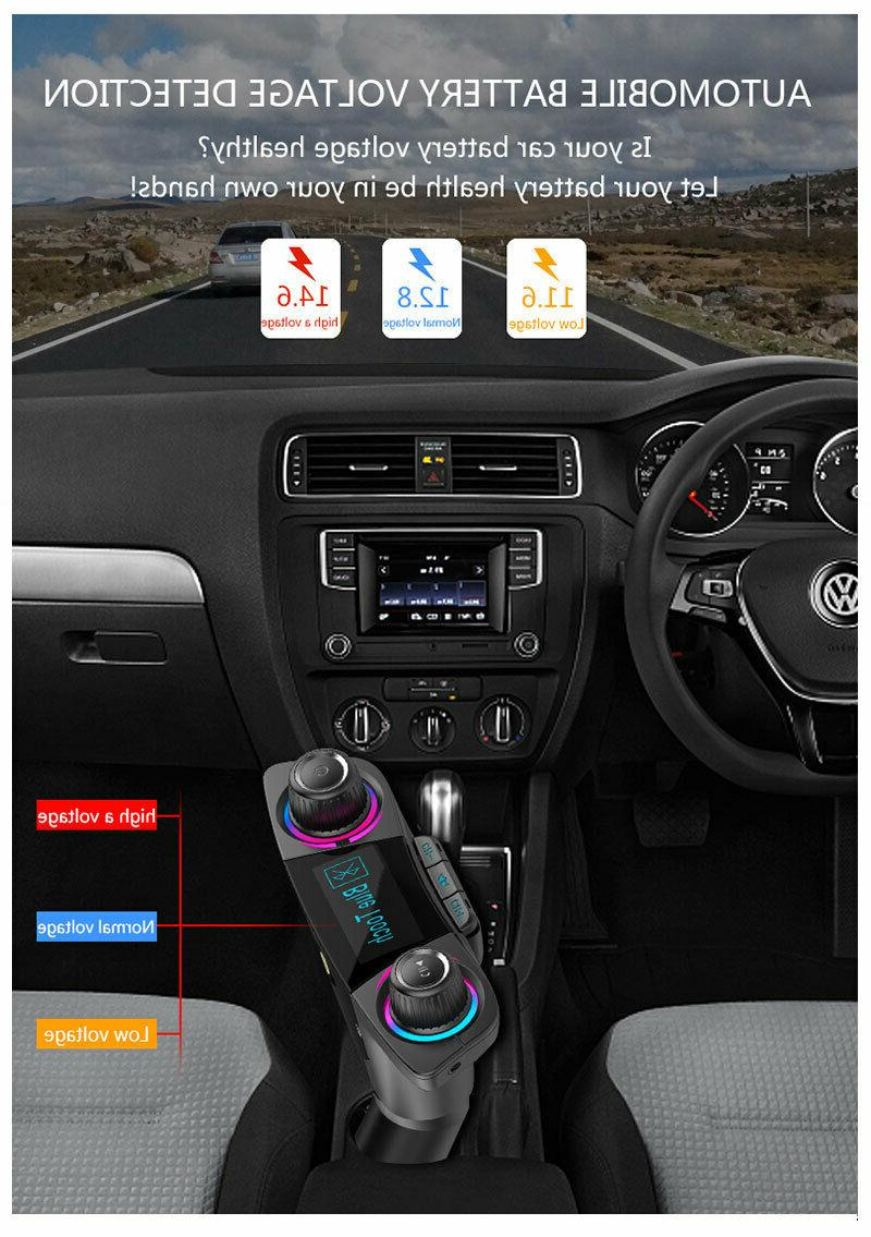 Bluetooth Car FM MP3 Radio Adapter Charger