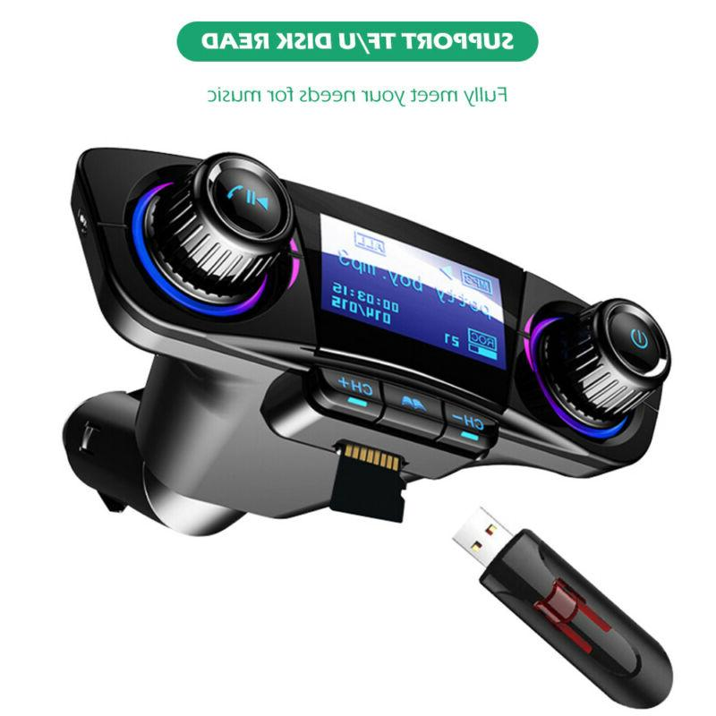 Bluetooth MP3 Player Hands Radio Charger